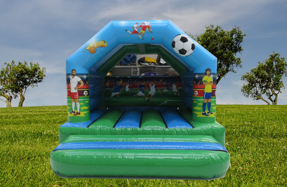 Château gonflable bouncer football