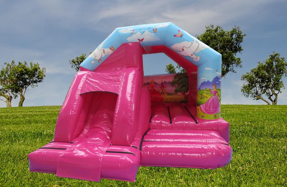 Château gonflable bouncer slide princesse