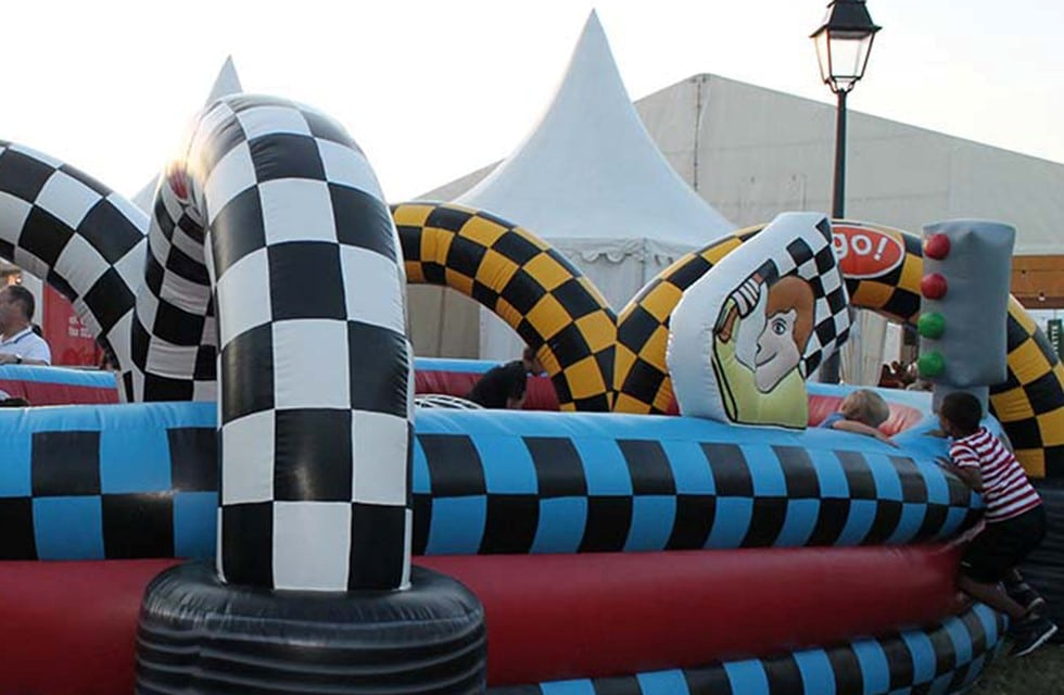 Château gonflable bouncer Grand Prix