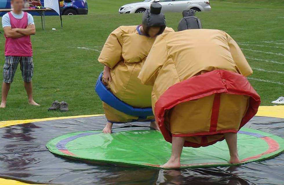 Jeu de sumo (mousse)
