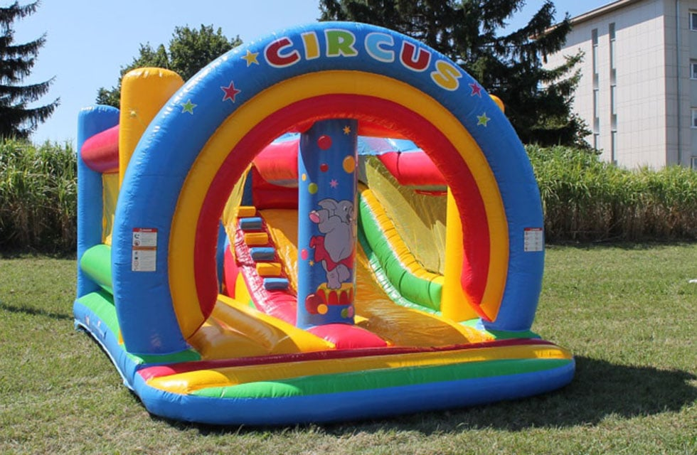 Château gonflable bouncer slide circus