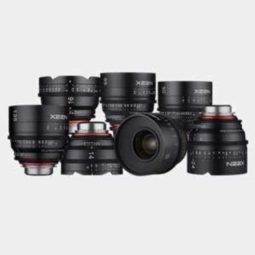 f41d352a621a XEEN Cinema Set (14mm, 24mm, 35mm, 50mm, 85mm, 135mm - Full Frame, EF / PL  hard case)