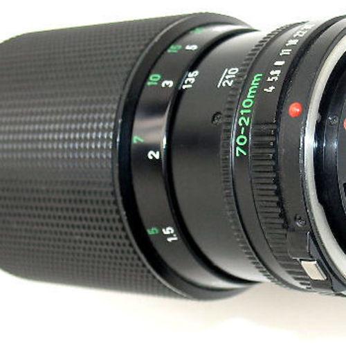 af51301ebb6f Canon FD 70-200 F/4 + E-mount / MFT adapter. from4 000 Ft. JJC AET-CS Canon  makró közgyűrű sor